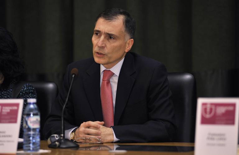 Sergio Gómez-Landero Pérez, en la conferencia