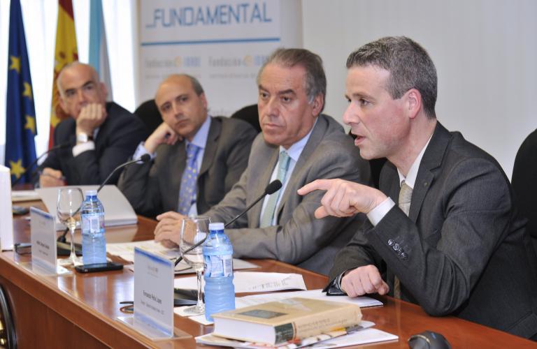 Fernando Peña en su intervención en Foro Inade