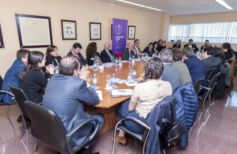 Asistentes a la sesión de Diálogos 2020