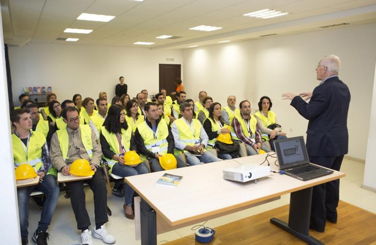 Sesión práctica en las instalaciones de FEIRACO