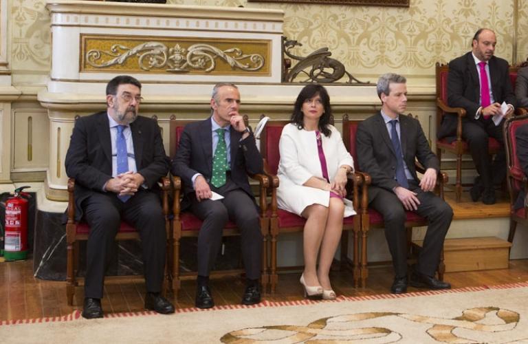 Ceremonia de entrega de los Premios Galicia Segura