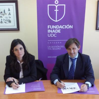 Nuria Fachal y David Heras
