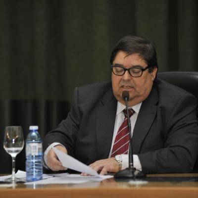 Discurso del Rector de la UDC, Julio Abalde