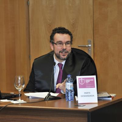 Ignacio Garrote representó a la parte demandada