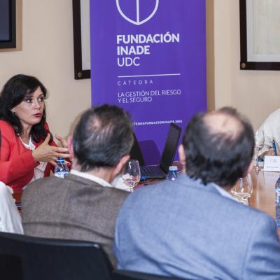 Lourdes Freiría (Grupo San José), durante su intervención