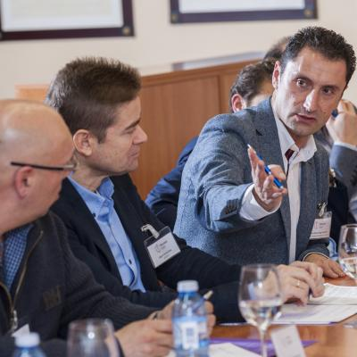 Coloquio con los participantes