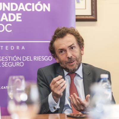 Juan Arsuaga durante su intervención