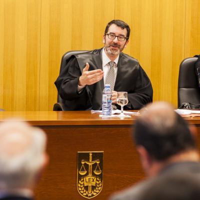 Luis de Castro actuó como juez del caso