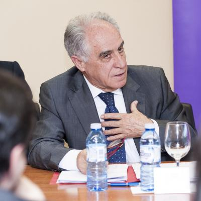 Santiago Martín Gil, Senior Advisor en HDI Global, durante su intervención