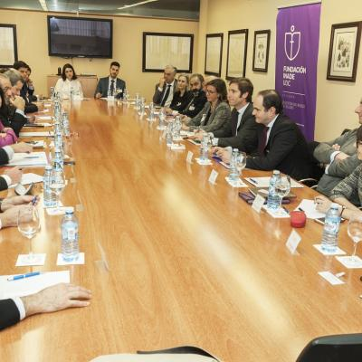 Asistentes a la sesión de Diálogos 2020 sobre internacionalización