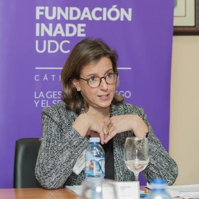 Benedetta Cossarini, directora general de AIG Iberia en el Diálogos 2020 sobre internacionalización
