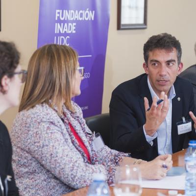 Demetrio Fernández López, Director Territorial de Inspección de Trabajo y Seguridad Social en Galicia del Ministerio de Empleo y Seguridad Social