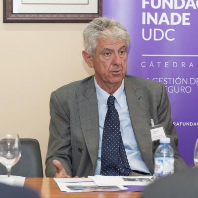 José Luis de Heras Herráiz durante su intervención