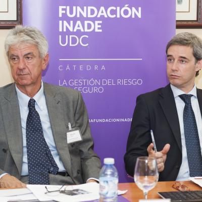 José Luis Lorenzo Cantero durante su intervención