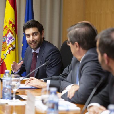 Antón Cobián Muñoz, presidente de los Alumni