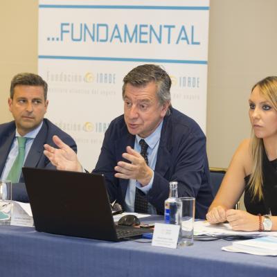 José María Casas, durante su intervención