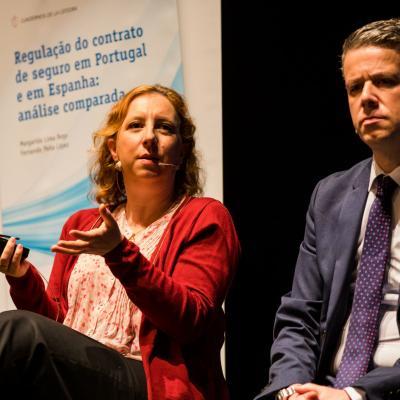 Margarida Lima Rego y Fernando Peña, autores del libro