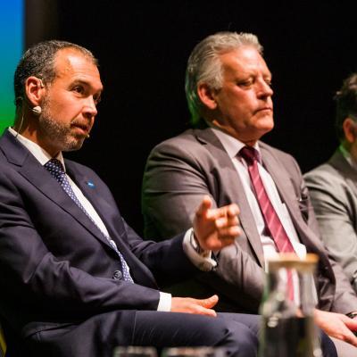Carlos Suárez, David Pereira y Antonio Fernandes