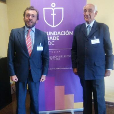 Juan Arsuaga (LLoyd's) en la Sesión de Diálogos 2020 sobre el seguro en la empresa